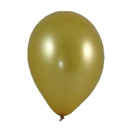 """Balóny nafukovacie zlaté """"M"""" (10 ks)"""