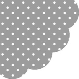 Obrúsky PAW R Dots grey