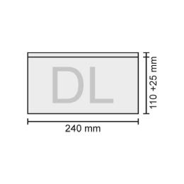 Obálka DL transportná, bal/1000 ks