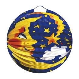 Lampión okrúhly, mesiac 24 cm