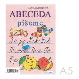 Omaľovánka A5 Litera - Abeceda 2
