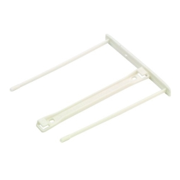 Archívna spona, plastová, biela, 100 mm, FELLOWES