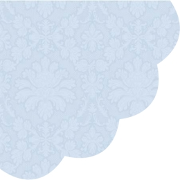 Obrúsky PAW R 32 cm inspiration perforated light blue