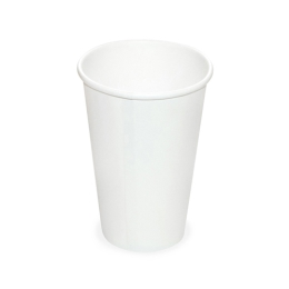 Pohár biely papierový 330 ml, L (pr. 80 mm), /50ks/