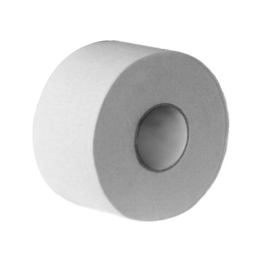Toaletný papier JUMBO 19cm ,2 vrs. biely 100% celuloza (6ks)