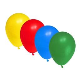 """Balóny nafukovacie farebné mix """"L"""" (100 ks)"""