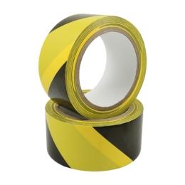 Lepiaca páska výstražná žlto-čierna 50 mm x 22 m