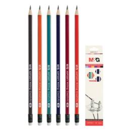 Ceruzka grafitová trojhranná HB s gumou