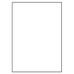 Etikety PRINT 210 x 297 biele 1 etiketa / A4
