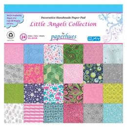 Zložka dekor. papiera - 24 listov, 30x30 cm - Little Angels Collection