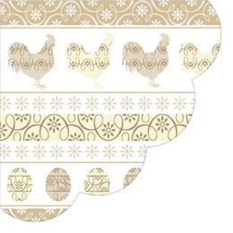 Obrúsky PAW R Easter Look beige