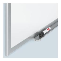 Magnetická biela tabuľa, utierateľná, hliníkový rám, 60 x 45 cm