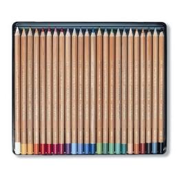 Krieda prašná v ceruzke KOH-I-NOOR farebná, sada 24 ks