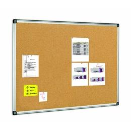 Korková tabuľa v hliníkovom ráme 100 x 150 cm