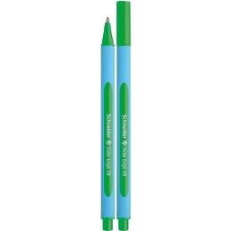 """Guľôčkové pero SCHNEIDER """"Slider Edge XB"""", 0,7 mm, s uzáverom, zelené"""