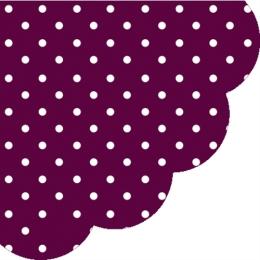Obrúsky PAW R Dots dark violet