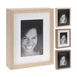 Fotorámček 10x15/15x20 cm - drevený, 1ks
