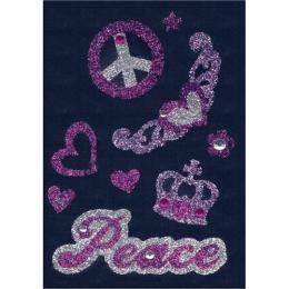 Nálepky dekoračné 6643 Peace