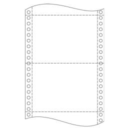 """Tabelačný papier 25 x 12""""/ 06 (1+2) NCR BP"""