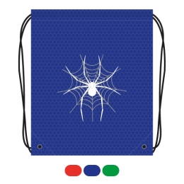 Vrecko na prezúvky s potlačou - pavúk