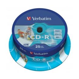 CD-R Verbatim 43432 DataLife Plus, 52x, 700 MB/80 MIN, 25-pack