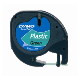 """Páska do štítkovača, 12 mm x 4 m, DYMO """"Letratag"""", biela"""