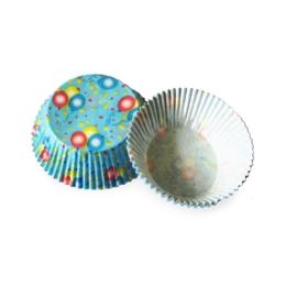 Cukr. košíčky balóniky O50 30 mm (40ks)