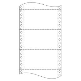 """Tabelačný papier 25 x 12""""/ 04 (1+1) NCR BP"""