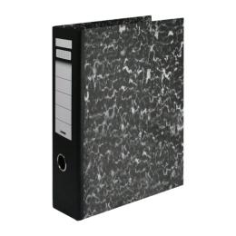 Poradač pákový Econom A4 80 mm, čierny
