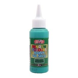 Farba na sklo KOH-I-NOOR 60 ml, tmavozelená