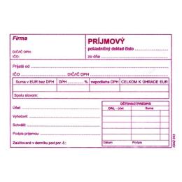 Príjmový pokl.doklad s DPH A6, samopr. (44)