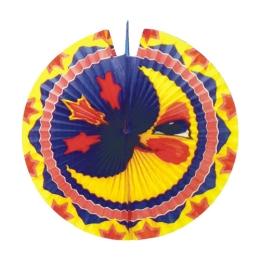 Lampión diskový Mesiac 33 cm
