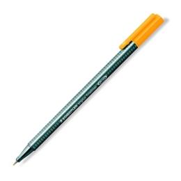 "Liner, 0,3 mm, STAEDTLER ""Triplus"", svetlooranžový"