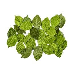 Dekoračné listy zelené 30 ks