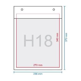 Obálka bublinková H18, 290 X 370 mm (270 x 360)