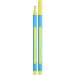 """Guľôčkové pero SCHNEIDER """"Slider Edge XB"""", 0,7 mm, s uzáverom, žlté"""