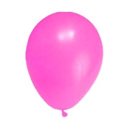 """Balóny nafukovacie ružové """"M"""" (10 ks)"""