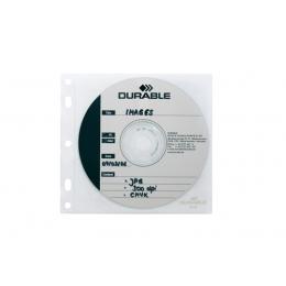 Vrecká s dierovaním na 2 CD/DVD