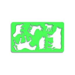 Šablóna zvieratko 1 - Koník