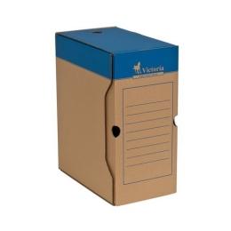 Archívny box, A4, 150 mm, kartón, VICTORIA, prírodný