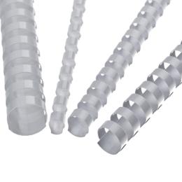 Hrebene plastové 10 mm biele