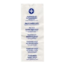 Hygienické papierové vrecká 11+6 x 28 cm (100 ks)