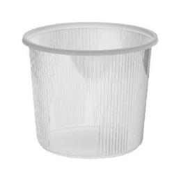 Miska okrúhla priehľadná 400 ml. /100ks/