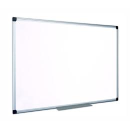 Smaltovaná, biela mag. tabuľa, 100x100cm