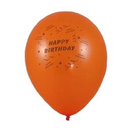 Balóny nafukovacie Happy Birthday (10 ks)