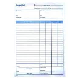 Dodací list s DPH A4, samoprepis (8) /OMI 652