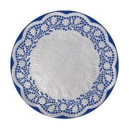 Krajky dekor. okrúhle 36 cm (6 ks v bal.)