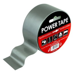 Lepiaca páska textilná POWER TAPE 48 mm x 10 m - šedá