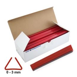 Násuvné lišty Relido 0-3 mm červené