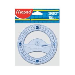 "Uhlomer MAPED ""GRAPHIC"" 360°, plastový, 12 cm"